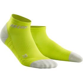 cep Low Cut Socks 3.0 - Calcetines Running Hombre - gris/verde